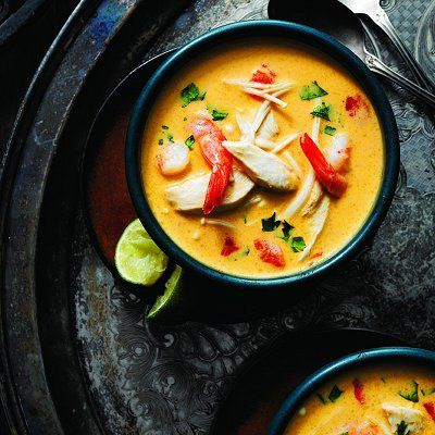 Add coconut milk to make our Classic tom yum soup with chicken and shrimp extra creamy! Find hundreds of soup recipes at Chatelaine.com.