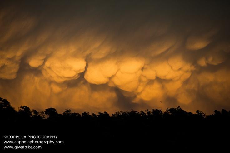 Storm coming into Big Timber Montana