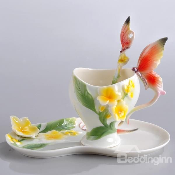 d082c5b9c05 New Arrival Stylish Design Gorgeous Butterfly Coffee Cup | Mugs and ...