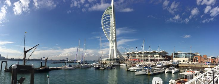 Portsmouth waterfront / September 2014
