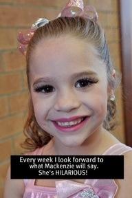 Mackenzie ziegler dance moms confessions