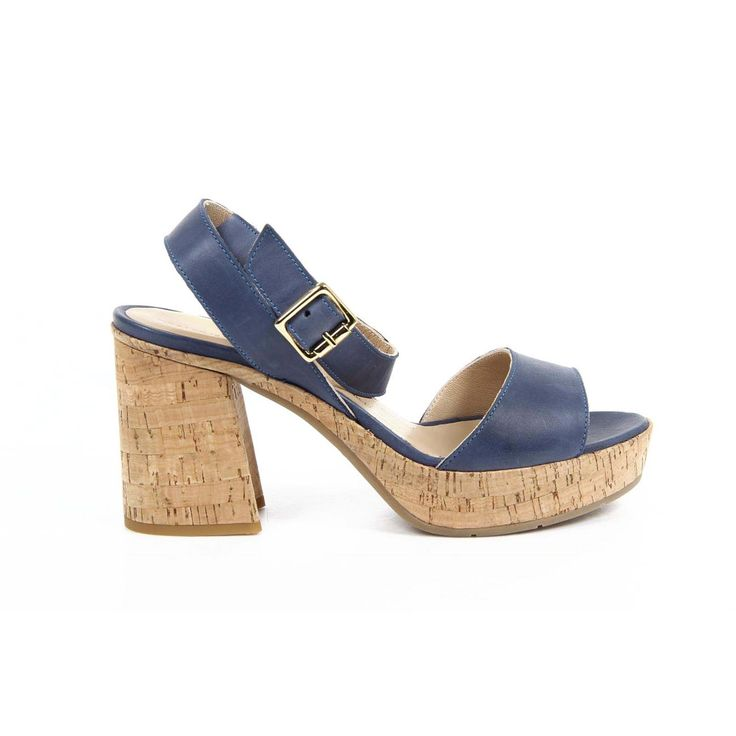 Versace 19.69 Abbigliamento Sportivo Srl Milano Italia ladies chunky heel sandal 5937-32197 NAPPA BOVINA COLORS DENIM