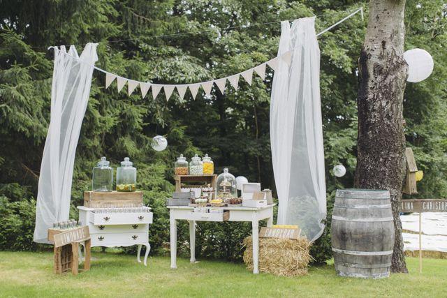 42 besten outdoor deko hochzeit bilder auf pinterest Outdoor deko