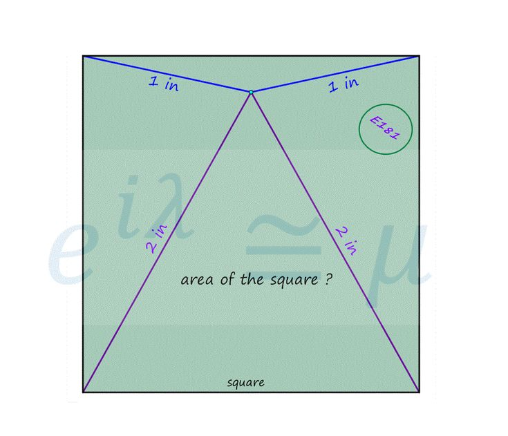 Area of the Square  #mathematics #satexam #actexam #mathteacher #teachmath #study #riddle #thinking #learning #yks #test #gercekboss #eylemmath #gercekboz #highschool #geometry #calculus #algebra #stem #reasoning #math #competition #amc #aime #olympiad