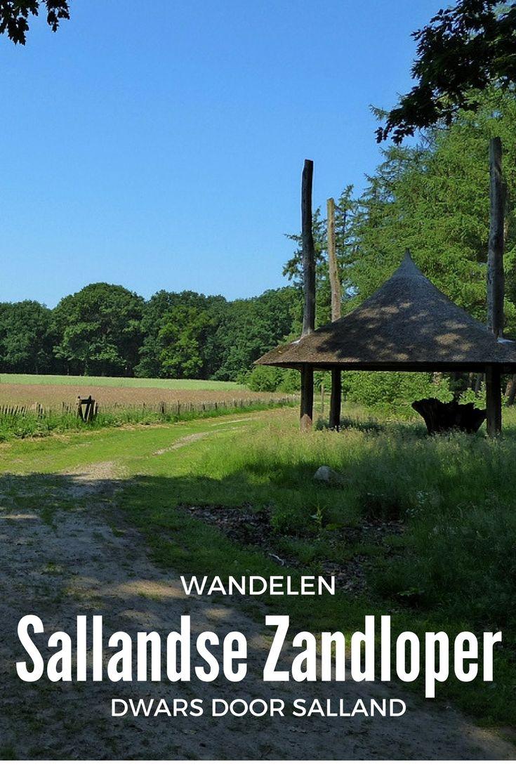 Afwisselende meerdaagse wandeltocht dwars door Salland