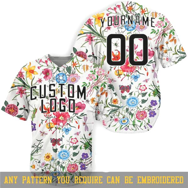 Create Your Own Custom Baseball Jersey Full Embroidery Hand Stitched