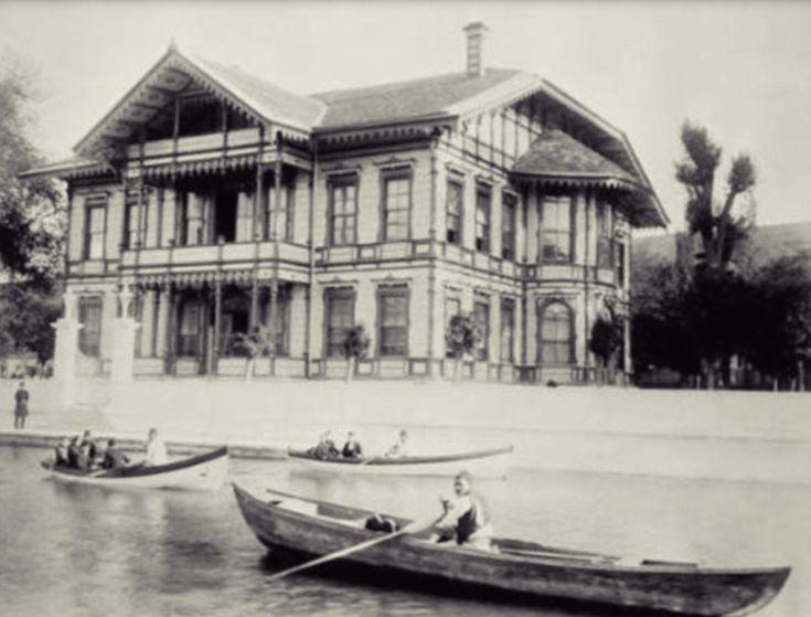 Imrahor Köşkü 1880-1893 (Kağıthane)