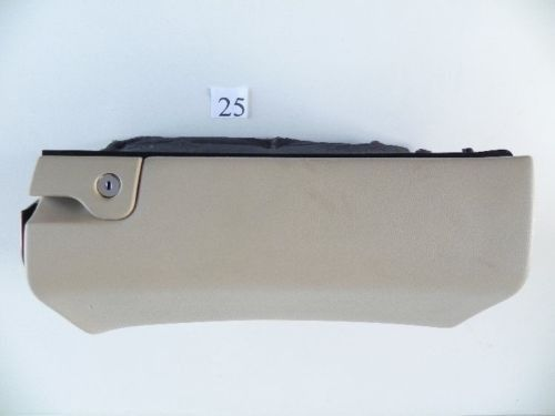 2002 MERCEDES C320 W203 GLOVE BOX STORAGE COMPARTMENT TAN A2036802691 573 #25