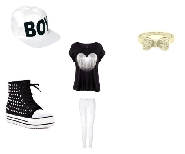 """""""Tom boy"""" by kaseyxoxoxo ❤ liked on Polyvore featuring BOY London, Mother and Penny Sue"""