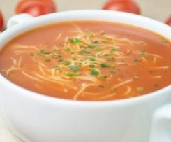 Zupa pomidorowa (jak u mamy)