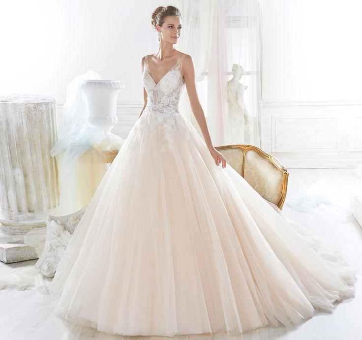 Fashion bride 2018 - Collection NICOLE. NIAB18117. Wedding Dress Nicole.