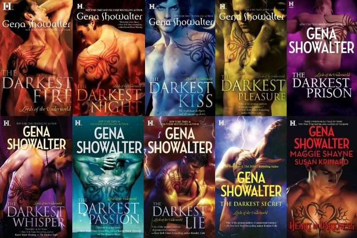Lords of the Underworld Series by Gena Showalter