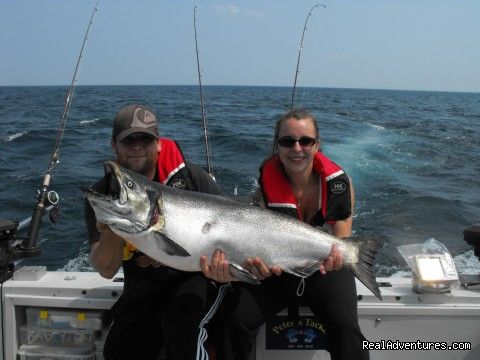 14 best hobby in the seas images on pinterest kayaking for Salmon fishing lake ontario