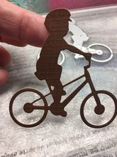 Tienda Online Preciosa Moto Bicicleta Niño Plantillas de Troqueles De Corte de Metal para DIY Scrapbooking/álbum de foto Decorativo En Relieve DIY Tarjetas De Papel Artesanal | Aliexpress móvil