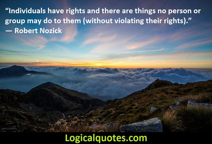 Inspirational Robert Nozick Quotes - Logical Quotes