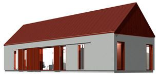 The Barn house model Norderö 88.