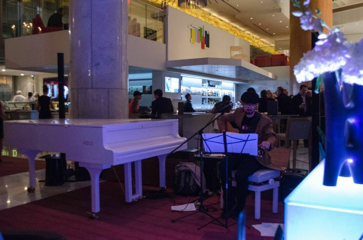 Live music rings through the air in our Lobby Lounge.