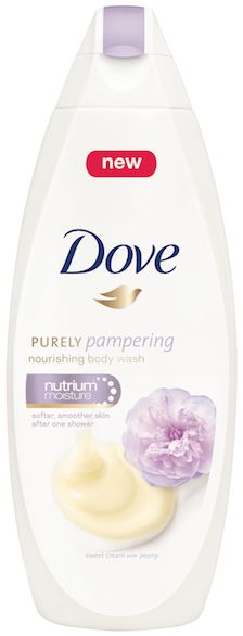 Dove Purely Pampering Sweet Cream with Peony Body Wash; so pretty!