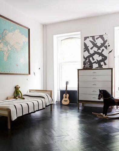 mid-century modern kid's room #homedecor #interiordesign