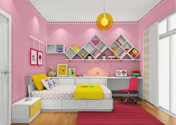 Кімната для дівчинки підлітка яскрава