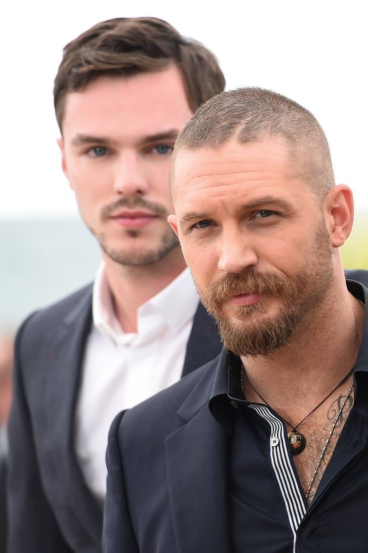 Pin for Later: Tom Hardy et Nicholas Hoult S'éclatent à Cannes Nicholas Hoult et Tom Hardy