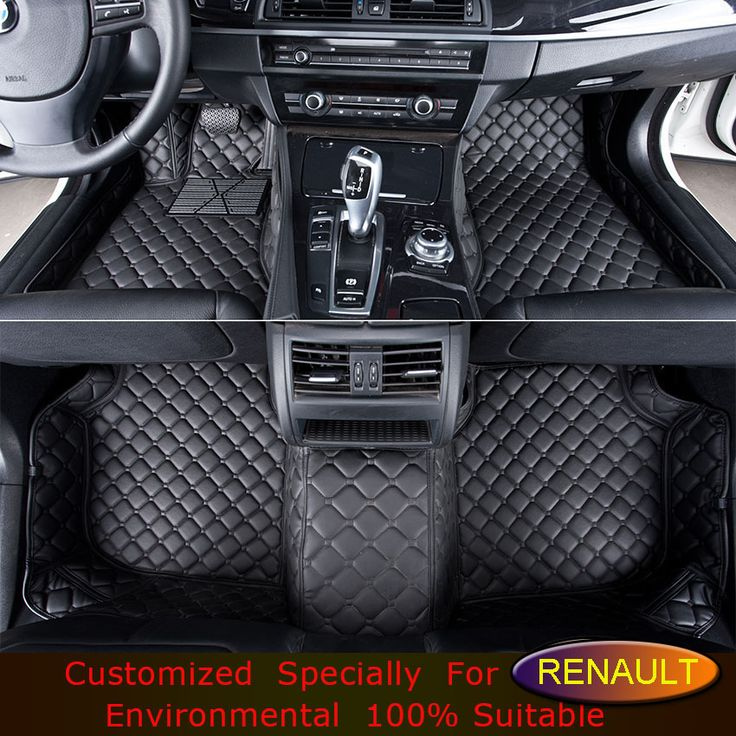 Car Floor Mats for Renault Scenic Fluence Koleos Laguna Laguna Megane Talisman Latitude Kadjar Captur Customize Car Foot Mats