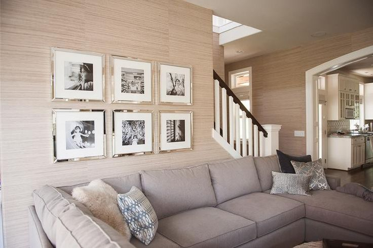 living rooms - Mirror Gallery Frames, mirror frames, mirrored picture frames,  west elm frames