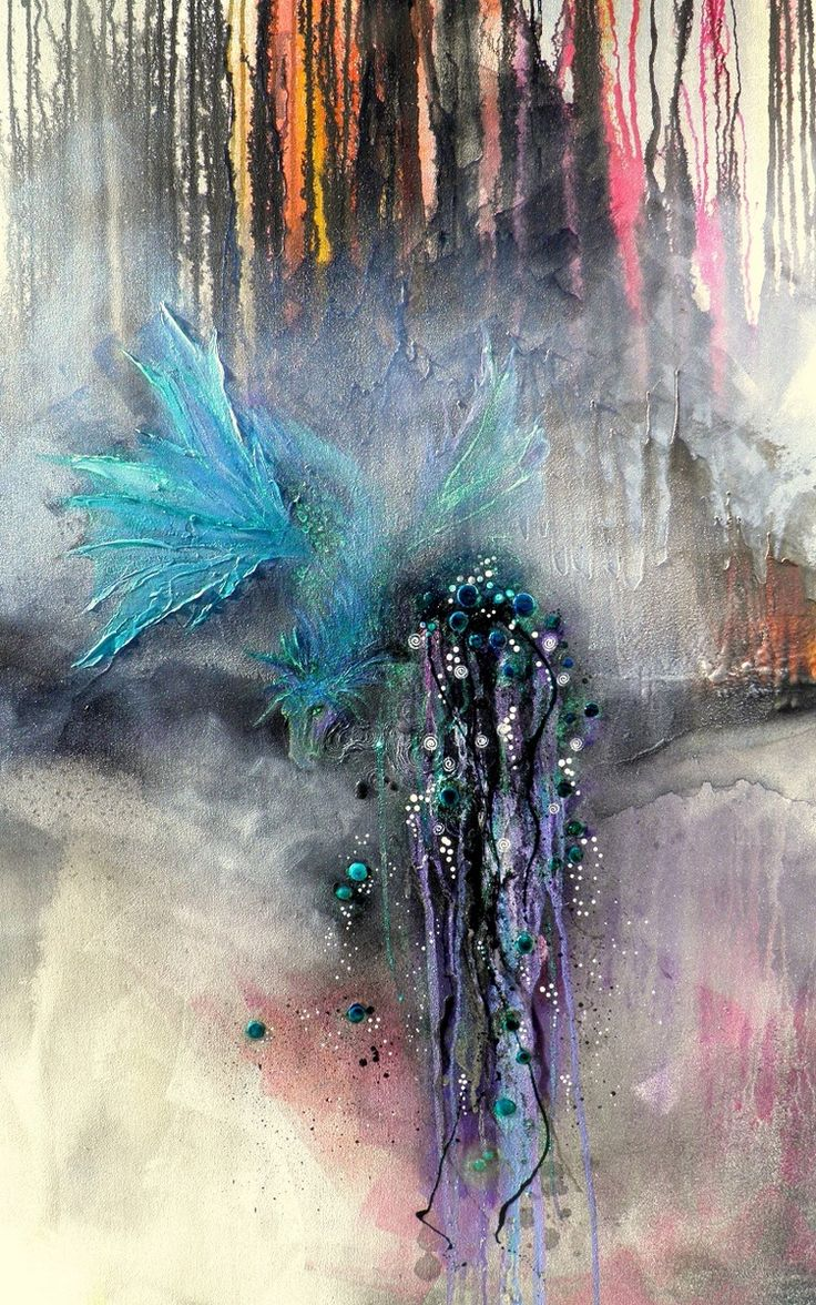 'honalee' 1500 x 900 mixed media on canvas SOLD
