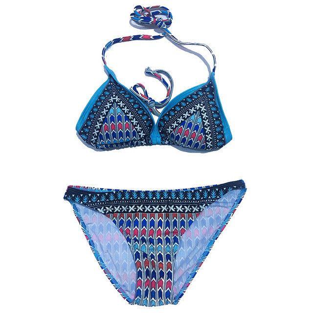 2017 New Design Bikini Swimwear Women Sexy Brazilian Swimsuit Biquini Vintage Bikinis Set Bathing Suit maillot de bain femme