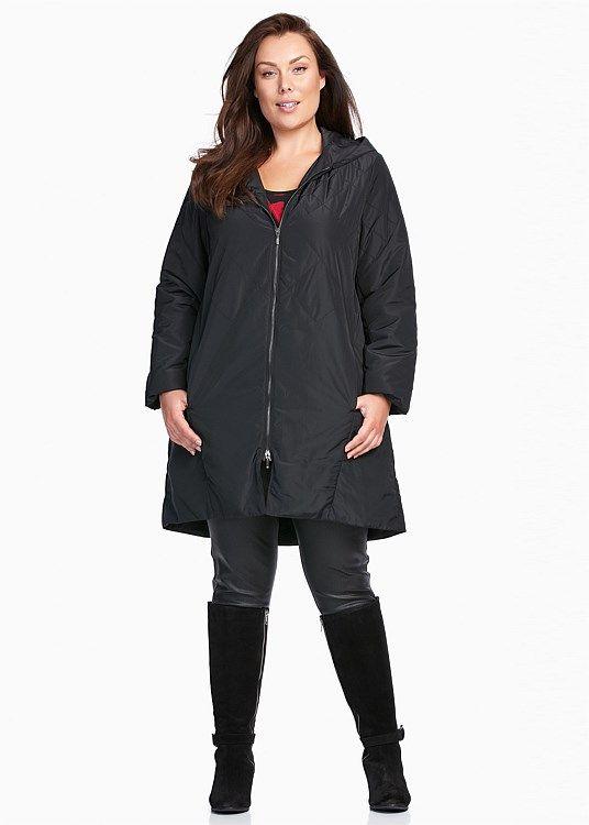 SALE - Plus Size Dresses Online | Taking Shape - FAIRGROUND PUFFER COAT