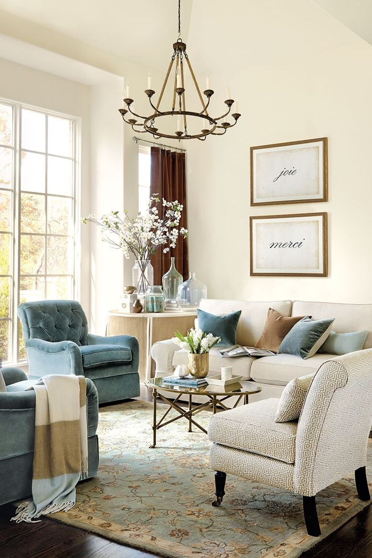 Choose a rug size for living room