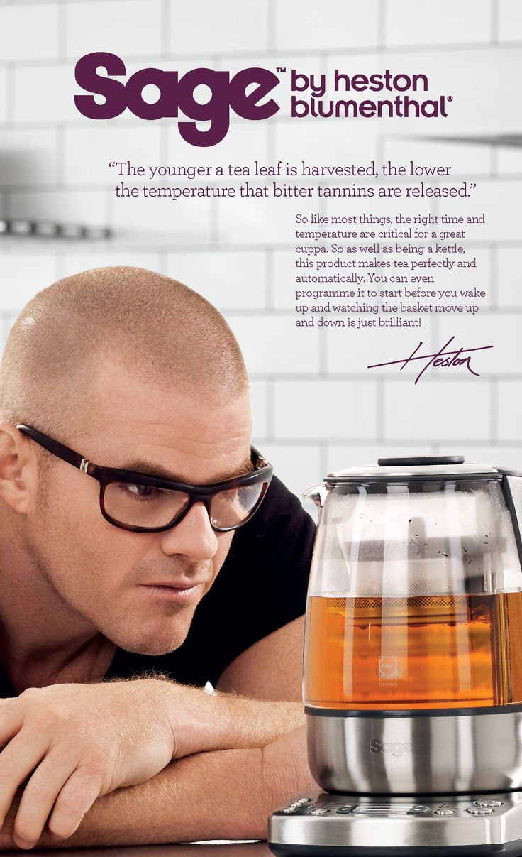 Heston explains the science behind the Tea Maker™