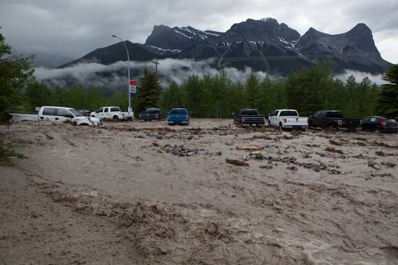 Canmore floods-Alberta flooding