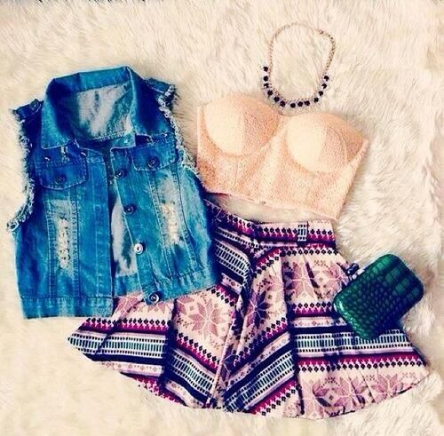 My Styles ❤  love this outfit , the jean adds a key touch !!! Totally would wear this !!!