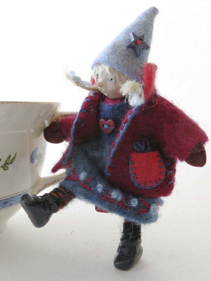 """Liesel"" miniature art doll by Lorraine Krahn Muenster, SusieB Design, Etsy ...miniature art doll"