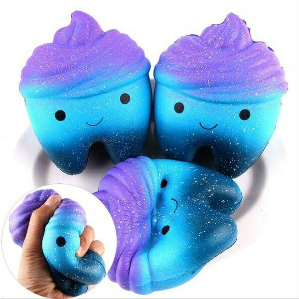 Squishy Galaxy Tooth : Galaxy tooth squishy Squshi Pinterest B?rnev?relse og Sjov