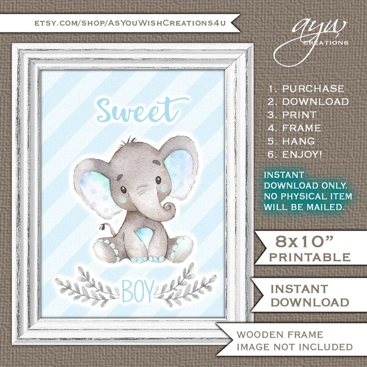 40 best elephant baby shower ideas for boys images on pinterest sweet boy elephant wall art watercolor elephant wall decor elephant new baby gift baby shower gift negle Image collections