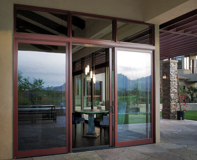 Sliding Patio Door c/w Transom & 10 best Loewen Windows images on Pinterest | Bay windows Huge ...