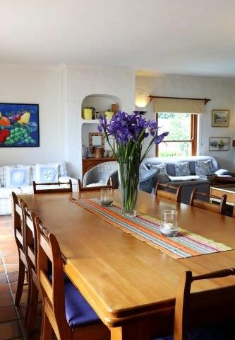 142 on 10th Street: Downstairs Dining room. FIREFLYvillas, Hermanus, 7200 @fireflyvillas ,bookings@fireflyvillas.com,  #142on10thStreet #FIREFLYvillas #HermanusAccommodation