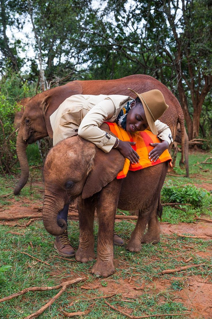 Lupita Nyong'o Is on a Mission to Save Elephants in Kenya