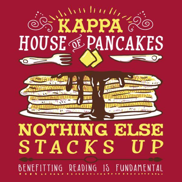 Greek house t shirts | fraternity sorority t shirt | greek function | social event | frat tank | greek life | greek house | KKG | kappa kappa gamma | greek apparel | philanthropy theme | philanthropy | pankakes