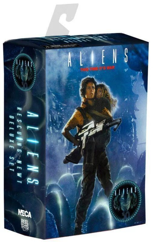 NECA Alien 2 This time it's war Ellen Ripley & Rescuing Newt 30th Anniversary PVC Action Figure