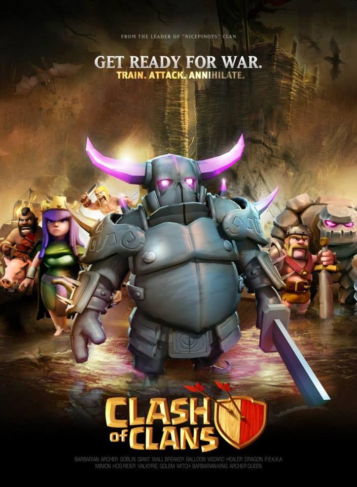 Clash of Clan Fait son cinéma
