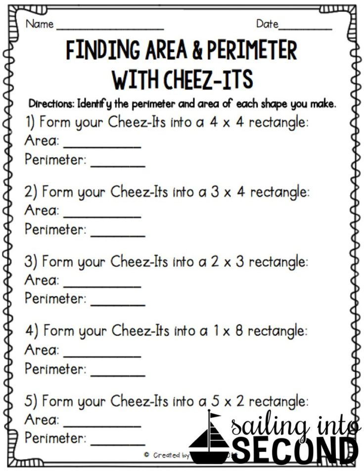 Best 25 Area And Perimeter Worksheets Ideas On Pinterest