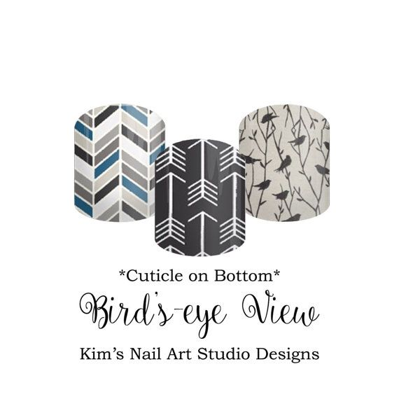 """Bird's Eye View:  If you want to get these beauties of your fingers and toes, head on over to my Jamberry Nail Art Studio Marketplace!  Simply click on the image above and it will direct you right to the listing!  To see more of my designs and some special sales, join my Facebook group """"Kim's Nail Art Studio Designs"""" at www.facebook.com/groups/925106354278688 Thanks for the interest in my designs!"""