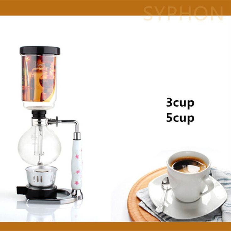 3 cups 5 cups of fine glass siphon pot / high quality vacuum coffee maker filter coffee pot coffee filter tool gift