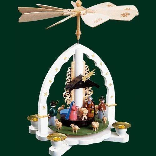 Weihnachtspyramide Christi Geburt 27cm