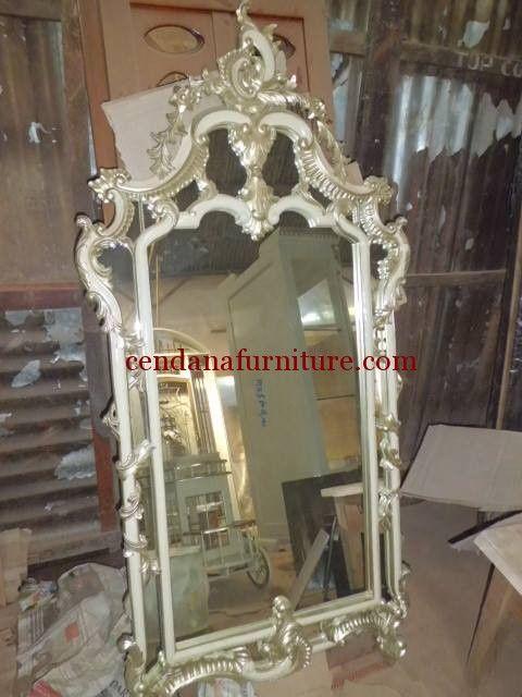 Cermin Hias Klasik Rococo Mewah