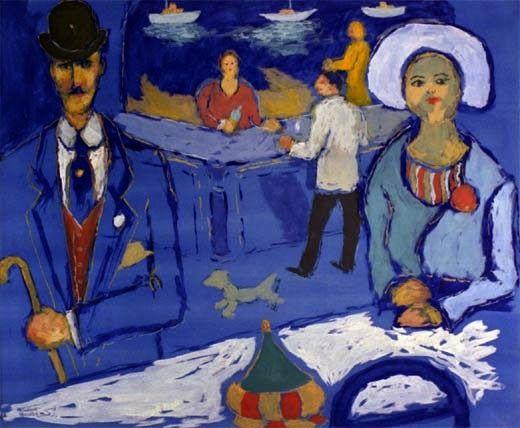 Fikret Moualla (1903-1967) Turkish Artist