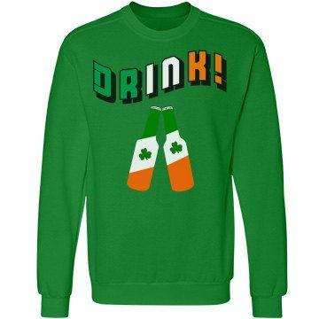 Irish Drinker Sweatshirt